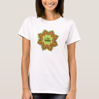 私はインドを愛します Tシャツ