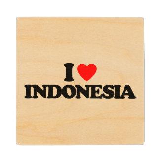 私はインドネシアを愛します ウッドコースター