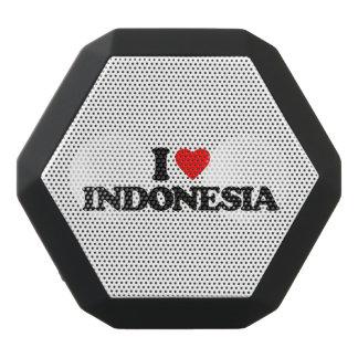 私はインドネシアを愛します ブラックBluetoothスピーカー