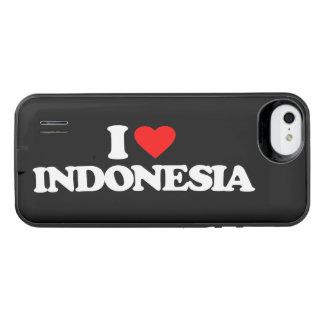 私はインドネシアを愛します iPhone SE/5/5sバッテリーケース