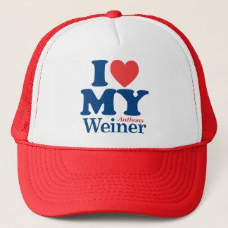 私はウィーナーを愛します キャップ