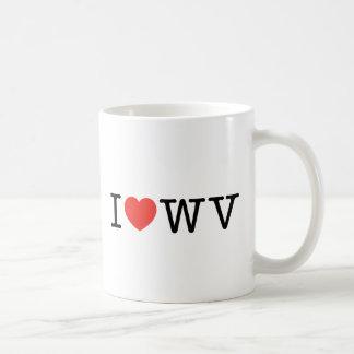 私はウェストヴァージニアを愛します コーヒーマグカップ