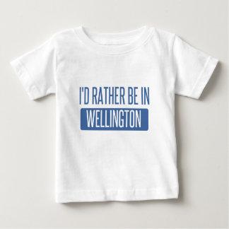 私はウェリントンにむしろいます ベビーTシャツ