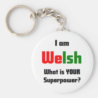 私はウェールズです キーホルダー