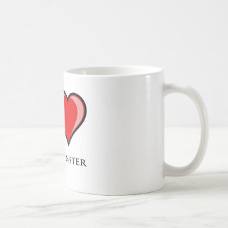 私はウエストミンスターを愛します コーヒーマグカップ