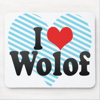 私はウォロフ語を愛します マウスパッド
