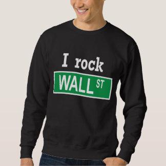 """""""私はウォールストリート""""のスエットシャツ揺すります スウェットシャツ"""
