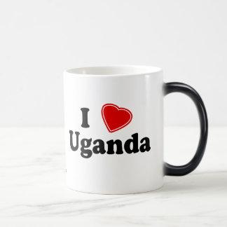 私はウガンダを愛します モーフィングマグカップ