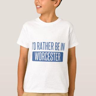 私はウスターにむしろいます Tシャツ