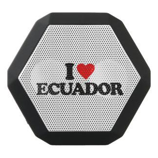 私はエクアドルを愛します ブラックBluetoothスピーカー