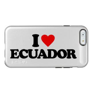 私はエクアドルを愛します INCIPIO FEATHER SHINE iPhone 6ケース