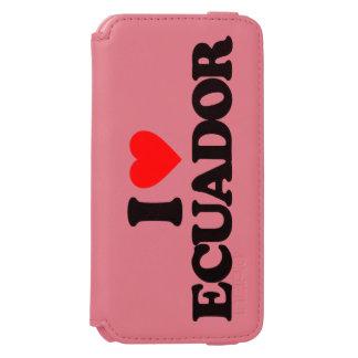 私はエクアドルを愛します INCIPIO WATSON™ iPhone 6 財布ケース