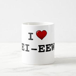 私はエコーのウィスキーを愛します コーヒーマグカップ