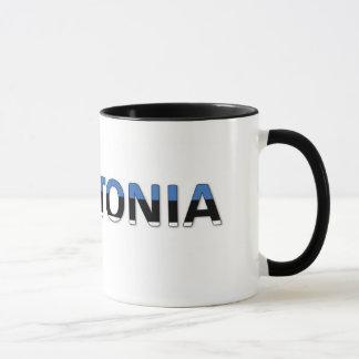 私はエストニアを愛します マグカップ