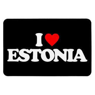 私はエストニアを愛します マグネット
