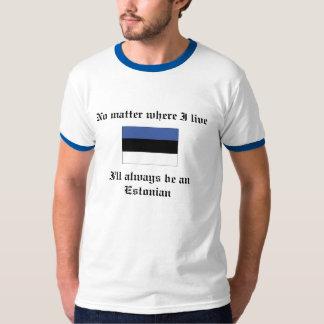 私はエストニア語のTシャツ常にです Tシャツ