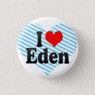 私はエデンを愛します 3.2CM 丸型バッジ