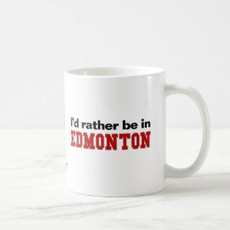 私はエドモントンにむしろいます コーヒーマグカップ