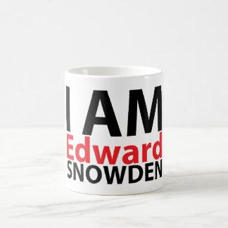 私はエドワードSnowdenのマグです コーヒーマグカップ