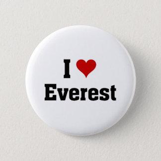 私はエベレストを愛します 5.7CM 丸型バッジ