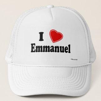 私はエマニュエルを愛します キャップ