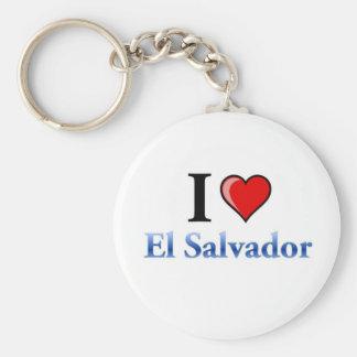 私はエルサルバドルを愛します キーホルダー