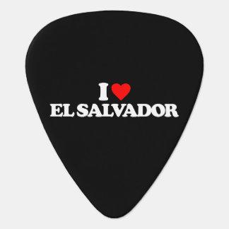 私はエルサルバドルを愛します ギターピック