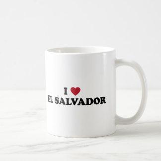 私はエルサルバドルを愛します コーヒーマグカップ