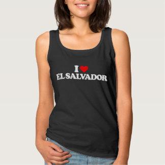 私はエルサルバドルを愛します タンクトップ