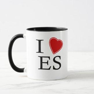 私はエルサルバドルを愛します マグカップ
