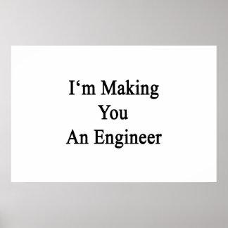 私はエンジニアを作っています ポスター