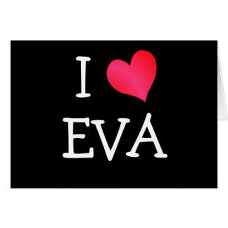 私はエヴァを愛します カード