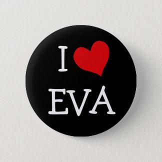 私はエヴァを愛します 5.7CM 丸型バッジ