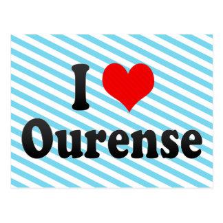私はオウレンセ、スペインを愛します。 私Encantaオウレンセ、スペイン ポストカード