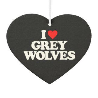 私はオオカミを愛します カーエアーフレッシュナー