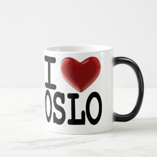 私はオスロを愛します モーフィングマグカップ