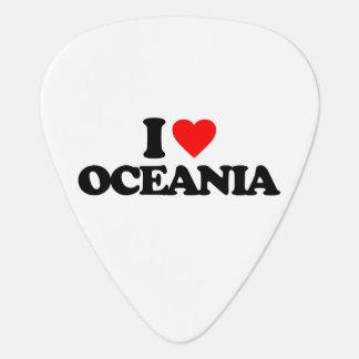 私はオセアニアを愛します ギターピック