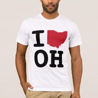 私はオハイオ州を愛します Tシャツ