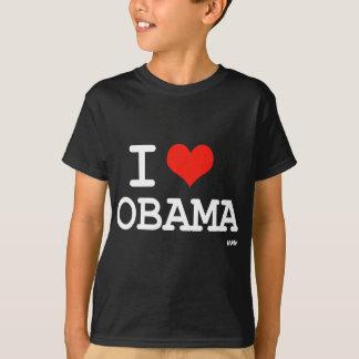 私はオバマを愛します Tシャツ