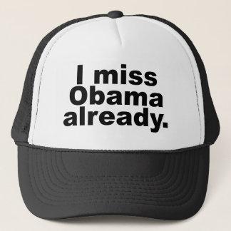 私はオバマを既に恋しく思います(軽い服装) キャップ