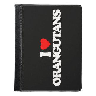 私はオランウータンを愛します iPadケース