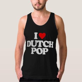 私はオランダの破裂音を愛します タンクトップ