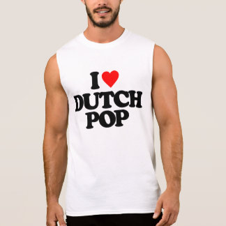 私はオランダの破裂音を愛します 袖なしシャツ