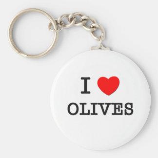 私はオリーブを愛します キーホルダー