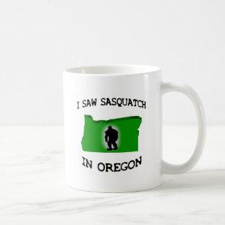 私はオレゴンのサスカッチを見ました コーヒーマグカップ