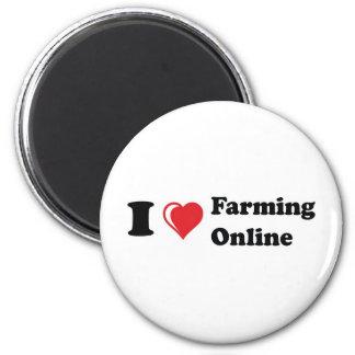 私はオンライン農業を愛します マグネット