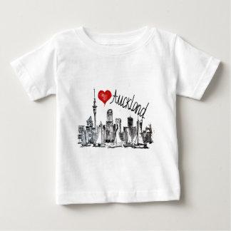 私はオークランドを愛します ベビーTシャツ