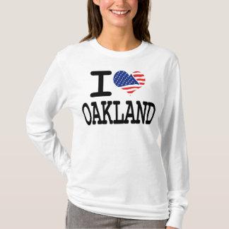 私はオークランドを愛します Tシャツ