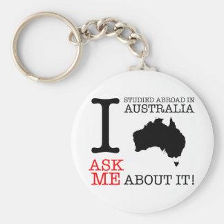 私はオーストラリアで調査しました! キーホルダー