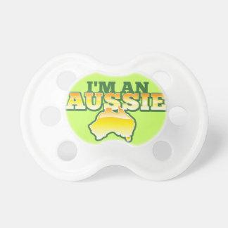 私はオーストラリア人です! おしゃぶり